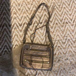 Gold Rebecca Minkoff Bag